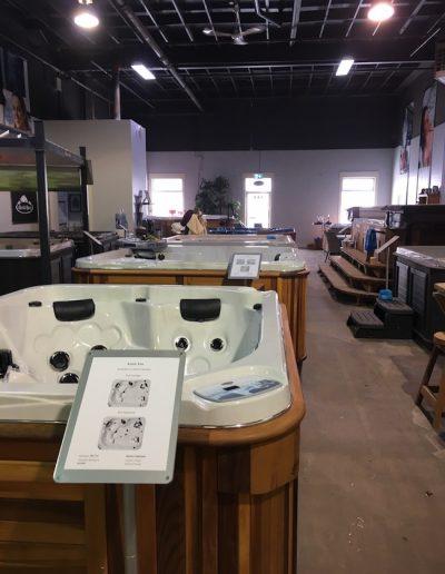 The arctic spas kamloops showroom